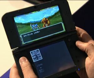 3DS戦闘画面